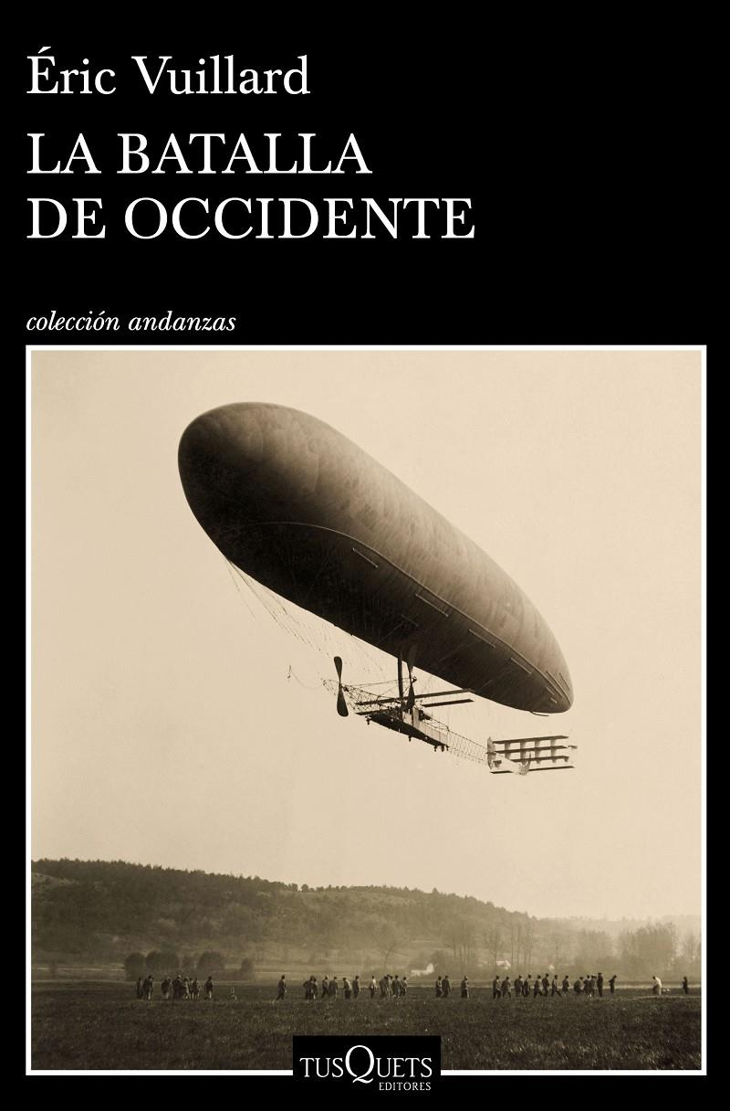 LA BATALLA DE OCCIDENTE | 9788490667422 | VUILLARD, ÉRIC